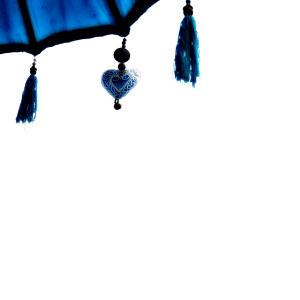 Blue Balinese sunbrella by @R1ns0